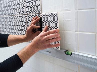 Comment Poser Du Carrelage Mural Sans Colle Avec Cristalgrip