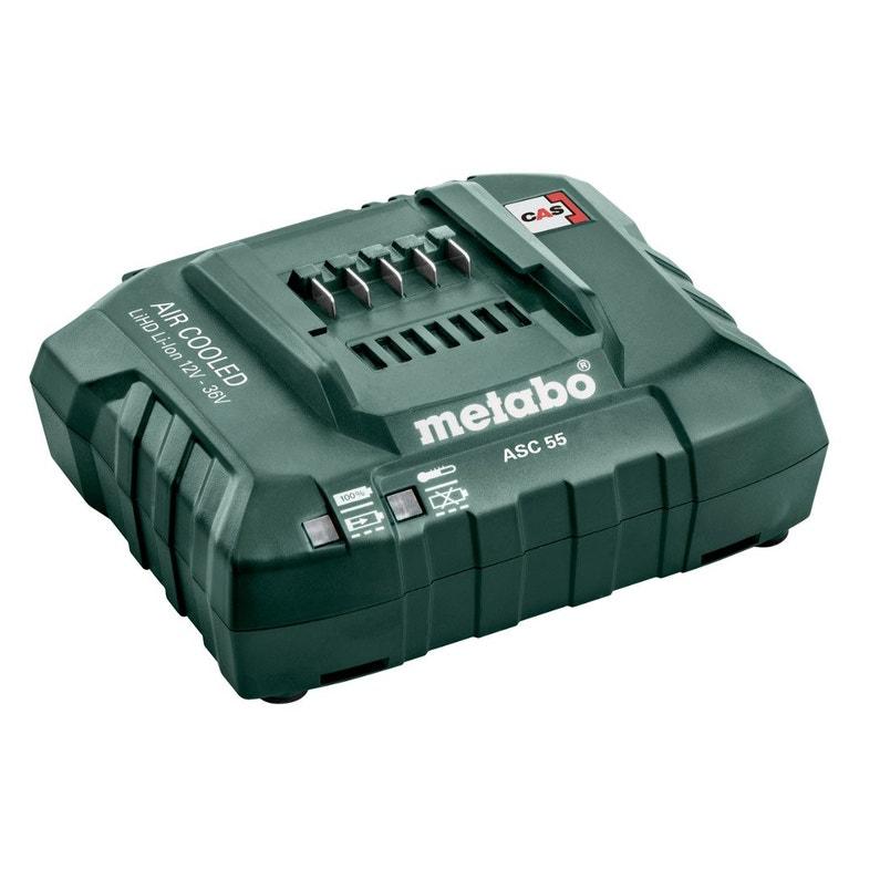 Chargeur De Batterie Metabo Asc 55 V