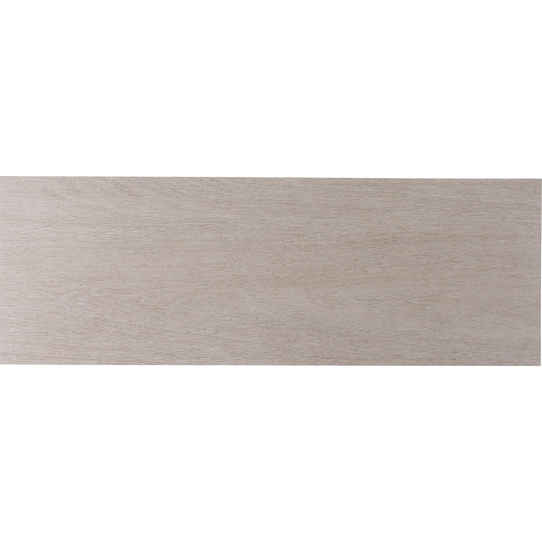 Faïence mur intenso bois chêne naturel mat l.24xL.69cm Lodge ZIONE-KERABEN GRUPO