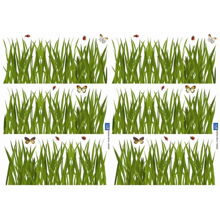 Sticker Herbes 21 Cm X 297 Cm Leroy Merlin