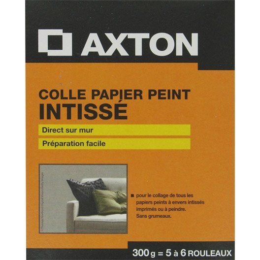 colle papier peint intiss axton 0 3 kg leroy merlin. Black Bedroom Furniture Sets. Home Design Ideas