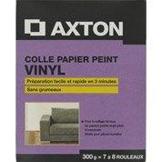 Colle papier peint vinyle AXTON, 0.3 kg