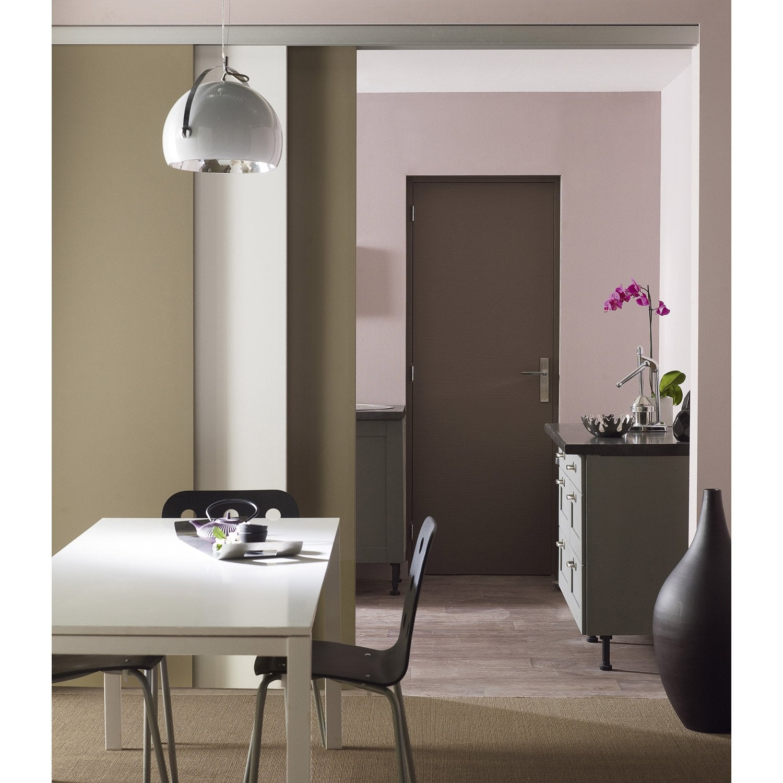 rail coulissant et habillage slide pour 3 cloisons artens porte de largeur 93cm leroy merlin. Black Bedroom Furniture Sets. Home Design Ideas