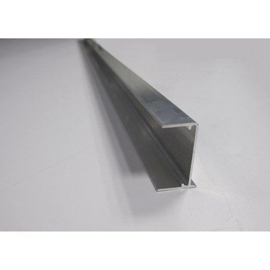 profil obturateur pour plaque ep. 32 mm aluminium, l.1.25 m