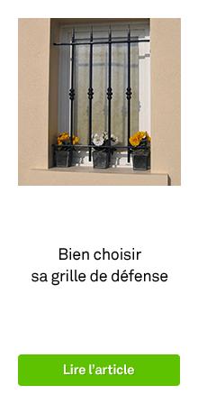Grille de d fense grille de fen tre de protection for Barre de protection pour fenetre