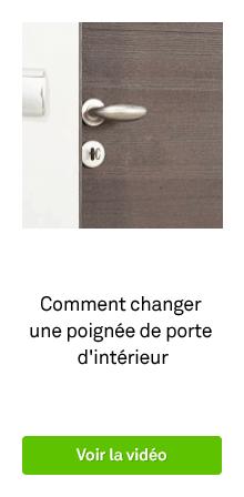 Poign e sur plaque poign e de porte int rieure leroy for Changer une poignee de porte