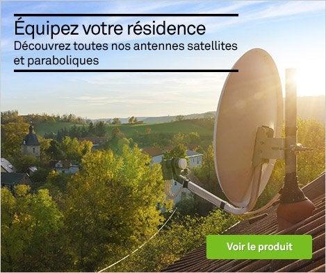 Famille - Décodeur TNT, parabole (réception TV par satellite)