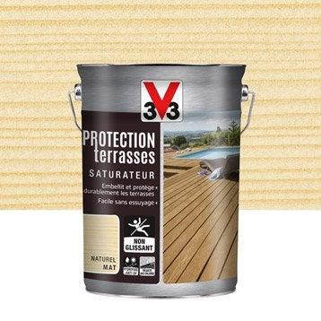 Protection V33 Protection terrasses 5l naturel 5 l, naturel