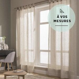 Rideau Voilage Vitrage Et Rideaux Sur Mesure Leroy Merlin