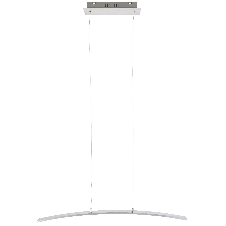 Suspension, led intégrée design Muda métal alu brossé 1 x 21 W INSPIRE