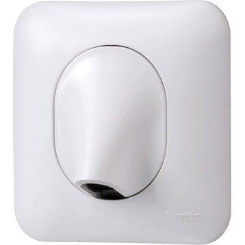 Sortie de câble Ovalis, SCHNEIDER ELECTRIC, blanc