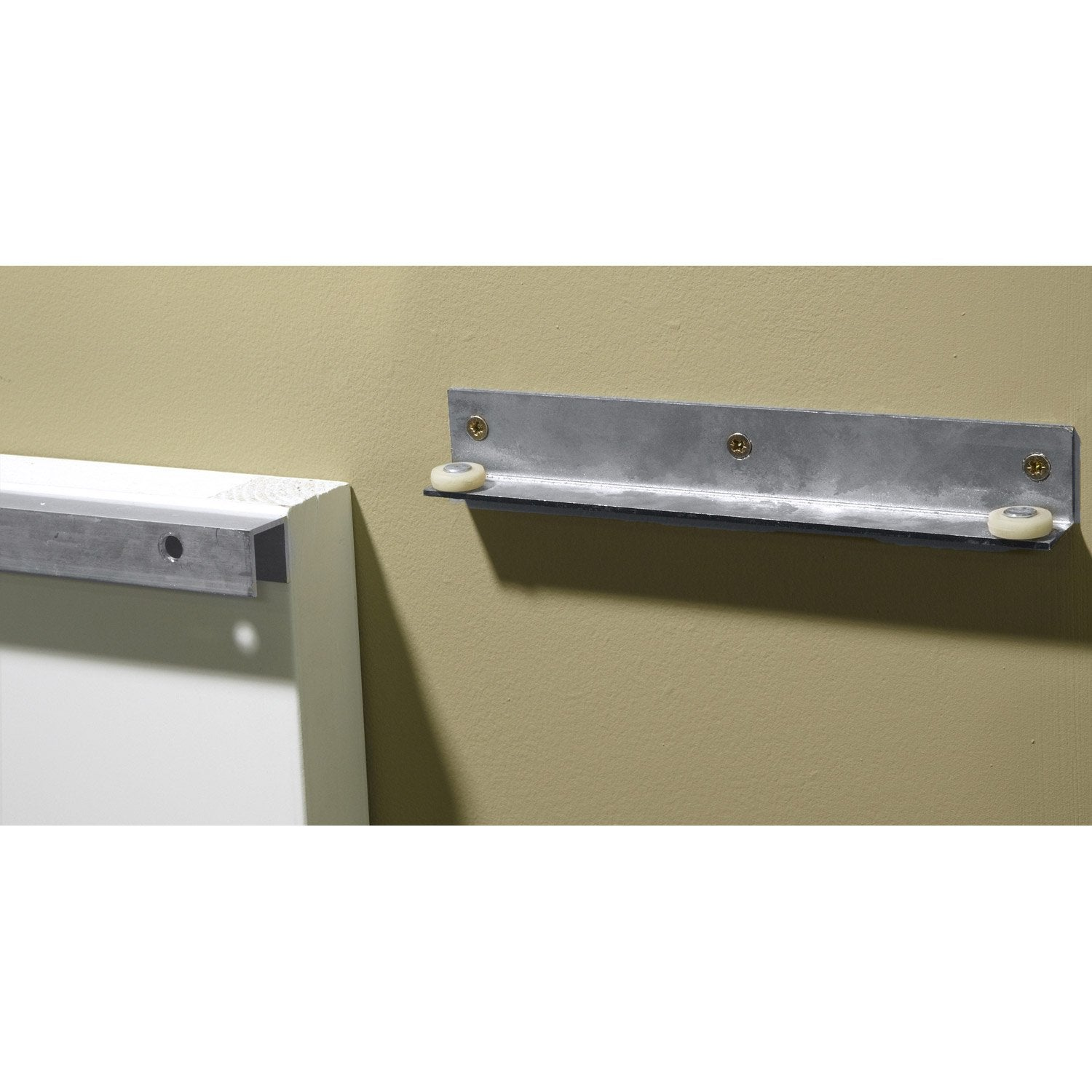 Rail Coulissant Secret ARTENS Pour Porte De Largeur Cm Leroy - Porte invisible leroy merlin