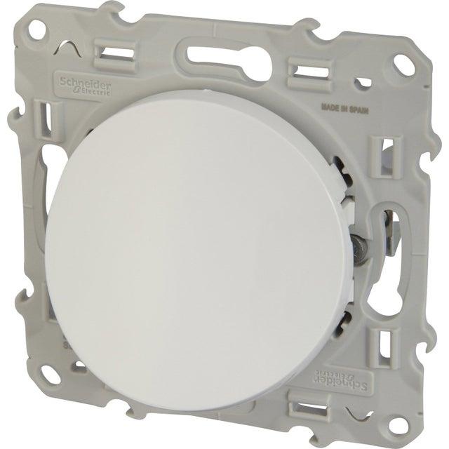 Sortie De Câble Odace Schneider Electric Blanc