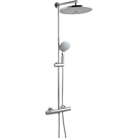 colonne de douche solano 2 avec robinetterie. Black Bedroom Furniture Sets. Home Design Ideas