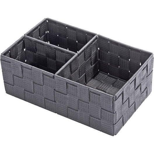 organiseur de salle de bains rangement de salle de bains leroy merlin. Black Bedroom Furniture Sets. Home Design Ideas