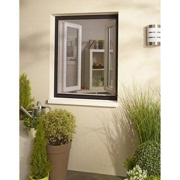 Moustiquaire pour fenêtre à enroulement vertical H.150 x l.220 cm
