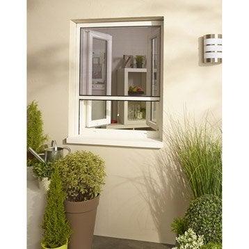 Moustiquaire pour fenêtre à enroulement vertical H.220 x l.125 cm