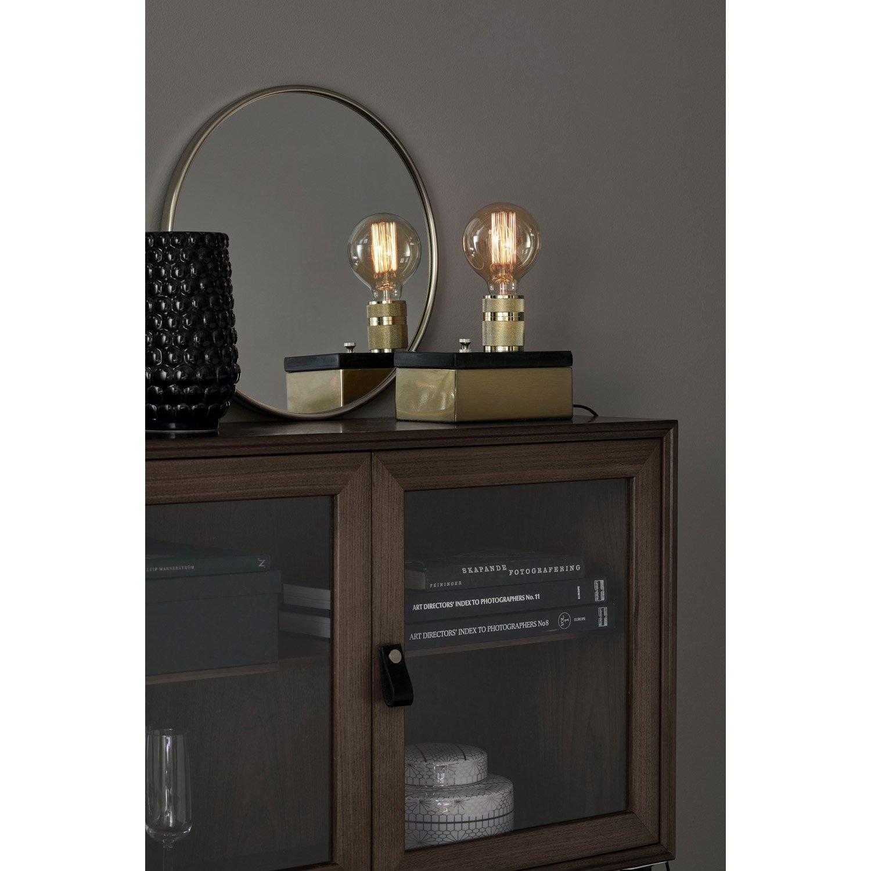 lampe e27 etui markslojd verre transparent 60 w leroy merlin. Black Bedroom Furniture Sets. Home Design Ideas