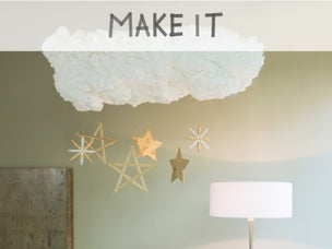 diy cr er une suspension en carton personnalisable leroy merlin. Black Bedroom Furniture Sets. Home Design Ideas