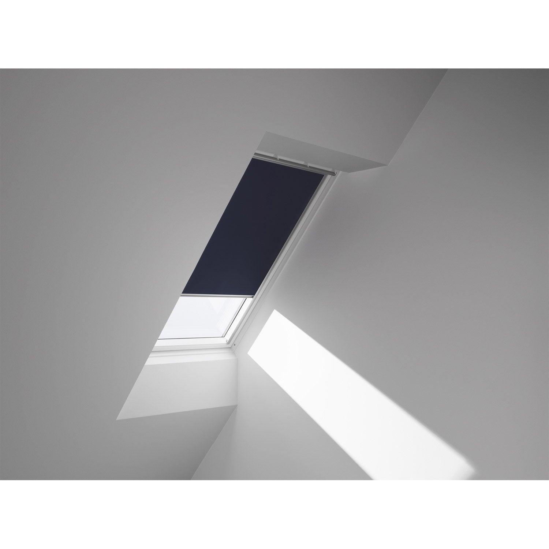 store fen tre de toit occultant bleu velux dkl c04 leroy. Black Bedroom Furniture Sets. Home Design Ideas
