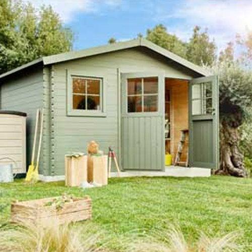grand choix de 39314 846b2 Abri de jardin, cabane, chalet, kiosque, garage | Leroy Merlin