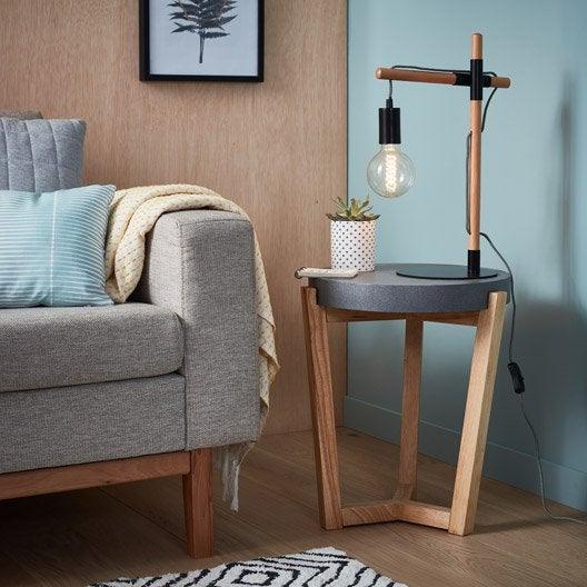 lampe lampe sur pied poser au meilleur prix leroy. Black Bedroom Furniture Sets. Home Design Ideas