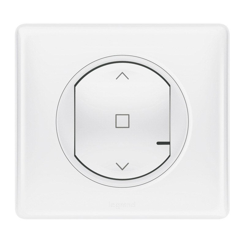 interrupteur volet roulant connect blanc c liane with. Black Bedroom Furniture Sets. Home Design Ideas