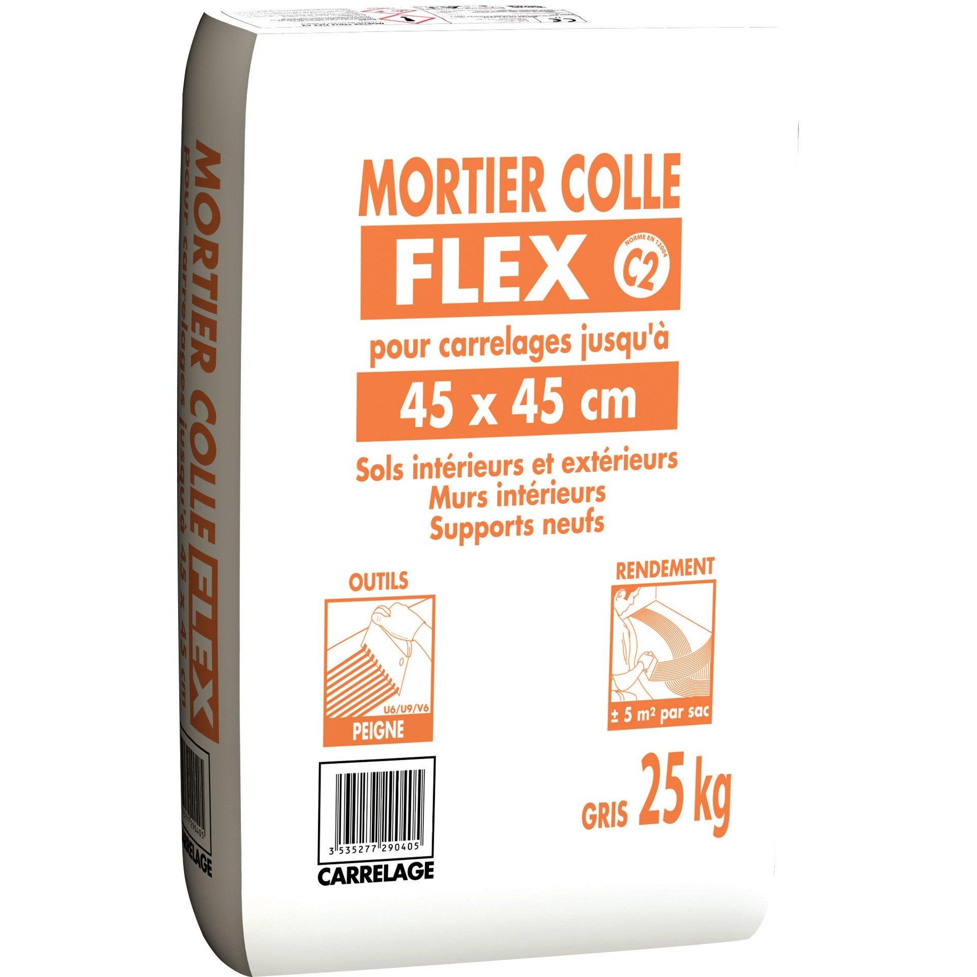 Charmant Mortier Colle Carrelage Mur Et Sol, ...