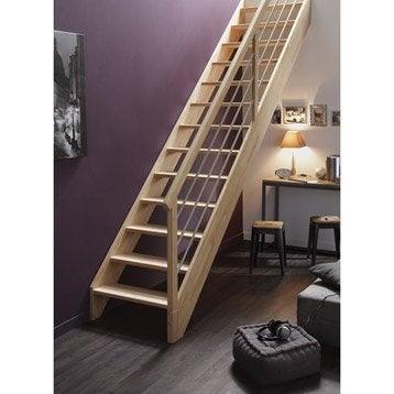 escalier escalier sur mesure leroy merlin With nice piscine bois leroy merlin 11 escalier modulaire escavario structure acier galvanise