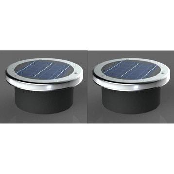 Eclairage solaire au meilleur prix leroy merlin for Spot encastrable exterieur leroy merlin