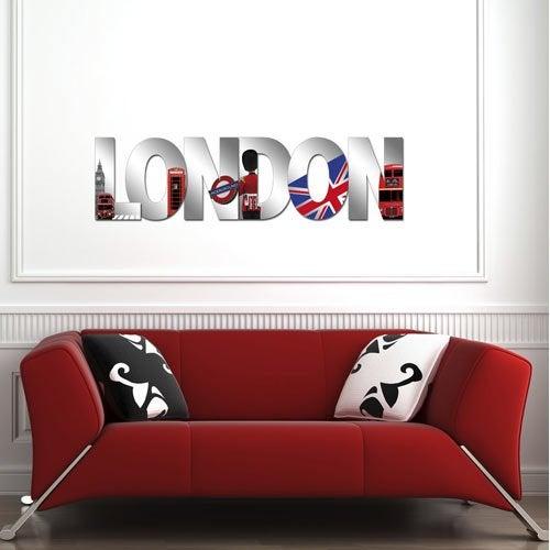 Stickers cadre affiche miroir d coration maison - Miroir decoratif a coller ...