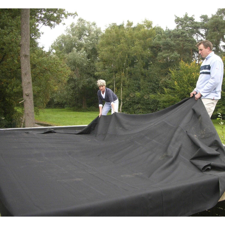 membrane d 39 tanch it pour toit plat easygum gris l 1 x l 1 m leroy merlin. Black Bedroom Furniture Sets. Home Design Ideas