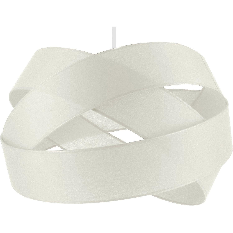 Suspension, e27 design Bijou PM coton blanc-blanc n°0 1 x 60 W ...