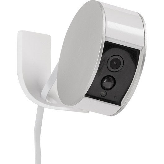 support mural myfox security camera leroy merlin. Black Bedroom Furniture Sets. Home Design Ideas
