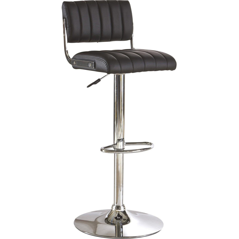 assise et base de tabouret noir leroy merlin. Black Bedroom Furniture Sets. Home Design Ideas