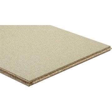 Dalle de plancher aggloméré, Ep.22 mm x L.185 x l.61 cm