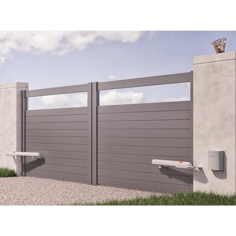 motorisation de portail v rins nice home aria 200 leroy merlin. Black Bedroom Furniture Sets. Home Design Ideas