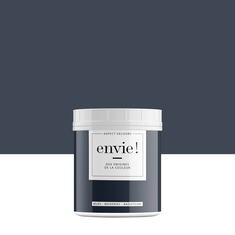 Testeur Peinture Mur, Boiserie, Radiateur ENVIE, Bleu éclipse, 0.5 L,  Velours