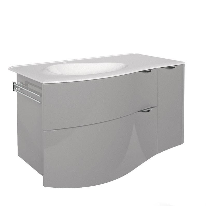 Meuble vasque 100 cm, Elegance | Leroy Merlin