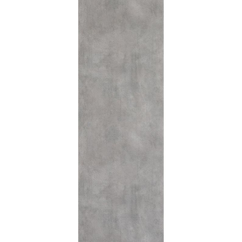Panneau Mural Pvc Gris Dumawall Denver L 260 X L 90 Cm X Ep 5 Mm