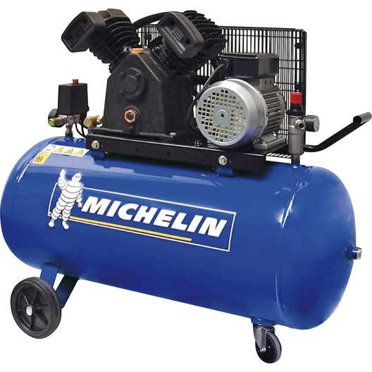 compresseur de chantier michelin 100 l 3 cv