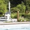 Fontaine de jardin en plastique bois clair 356031 leroy merlin - Jardin des crayeres menu ...
