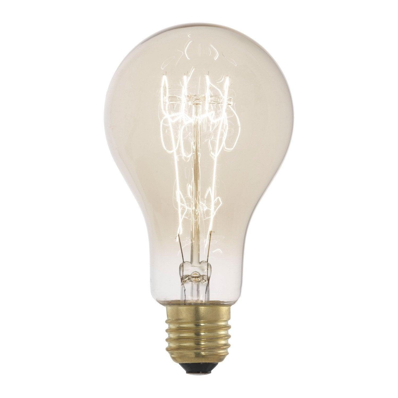 ampoule filament standard incandescente 60w e27 2700k eglo leroy merlin. Black Bedroom Furniture Sets. Home Design Ideas