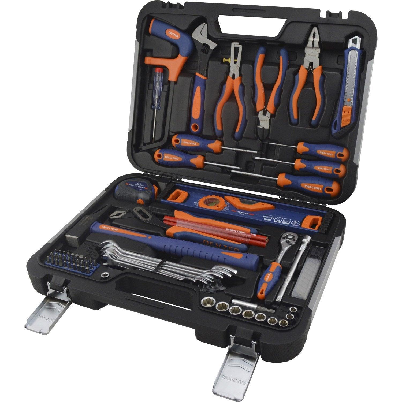 Malette outils de m canicien 75 pi ces dexter leroy merlin - Malette outils enfant ...