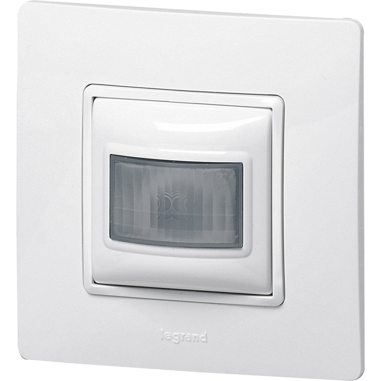 interrupteur automatique nilo blanc legrand leroy merlin. Black Bedroom Furniture Sets. Home Design Ideas