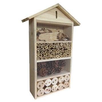 mangeoire et nichoir oiseau abri h tel insectes au. Black Bedroom Furniture Sets. Home Design Ideas