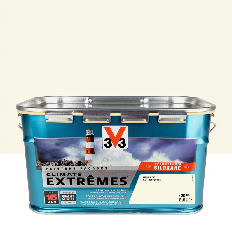 Peinture Façade Climats Extrêmes V33 Meulière 25 L
