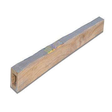 Poutre chêne creuse rustique l.10 x H.10 cm, L.2 m
