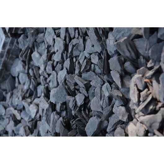 P tales d 39 ardoise bleu 30 60 mm 25 kg leroy merlin - Couverte d ardoises ...