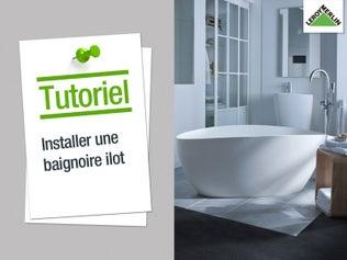 Tout savoir sur la douche l 39 italienne leroy merlin - Installer une douche a la place d une baignoire ...